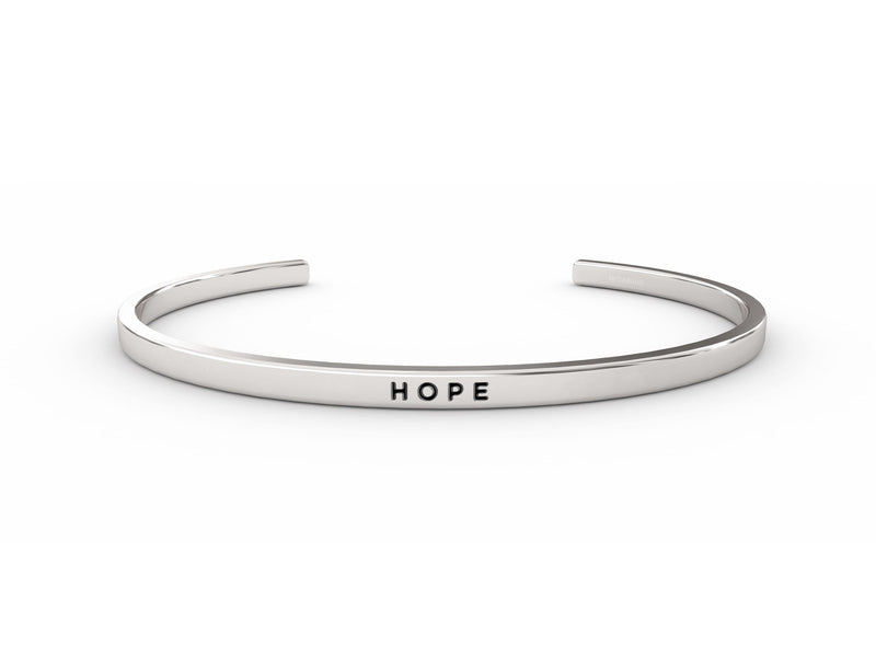 Hope  SILVER Delta & Co Bracelet by Delta & Co