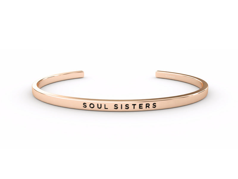 Soul Sisters  Rose Gold Delta & Co Bracelet by Delta & Co