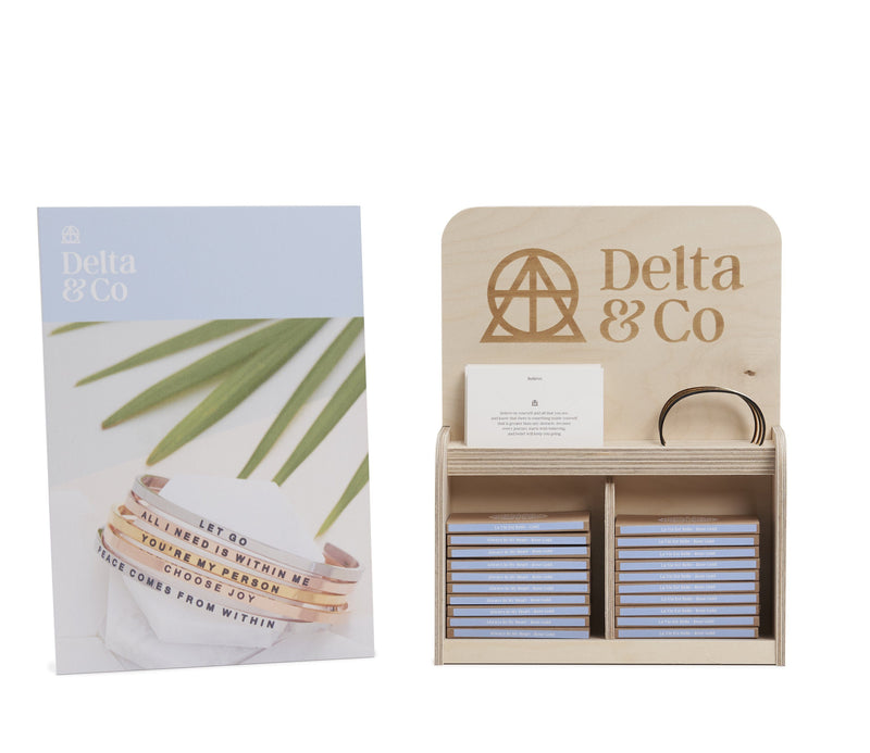 DeltaBand Display Stand  Small Delta & Co Retail by Delta & Co