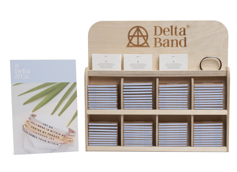 DeltaBand Display Stand  Large Delta & Co Retail by Delta & Co