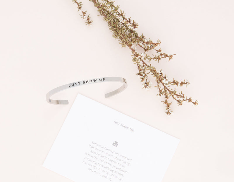 Just Show Up   Delta & Co Bracelet by Delta & Co