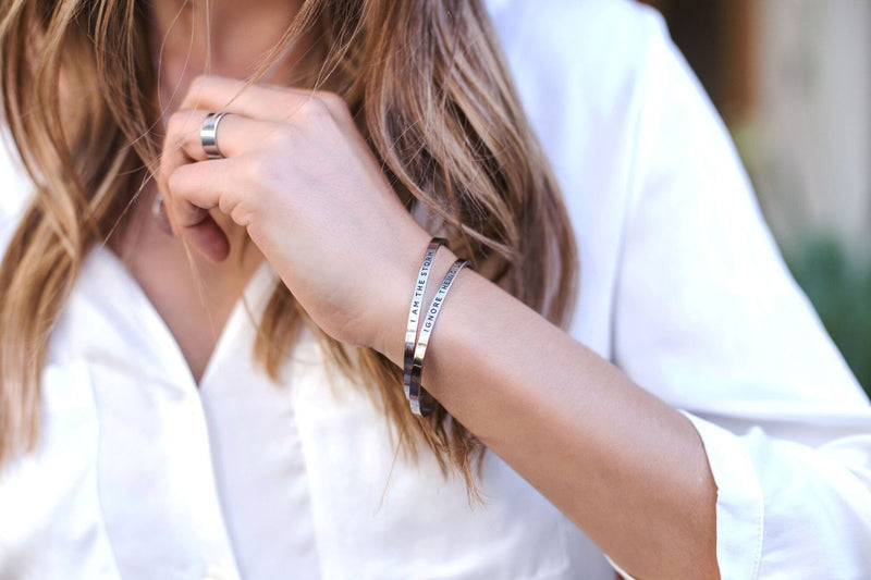 Memento Vivere (don't forget to live)   Delta & Co Bracelet by Delta & Co