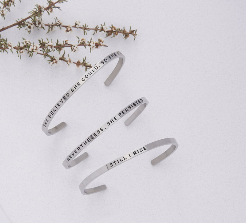 Nevertheless, She Persisted   Delta & Co Bracelet by Delta & Co