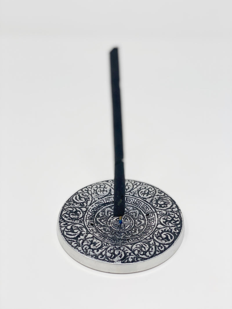 Tibetan Incense Burner 4""