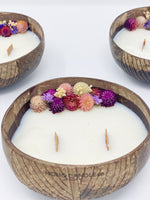 Coconut Floral Candle