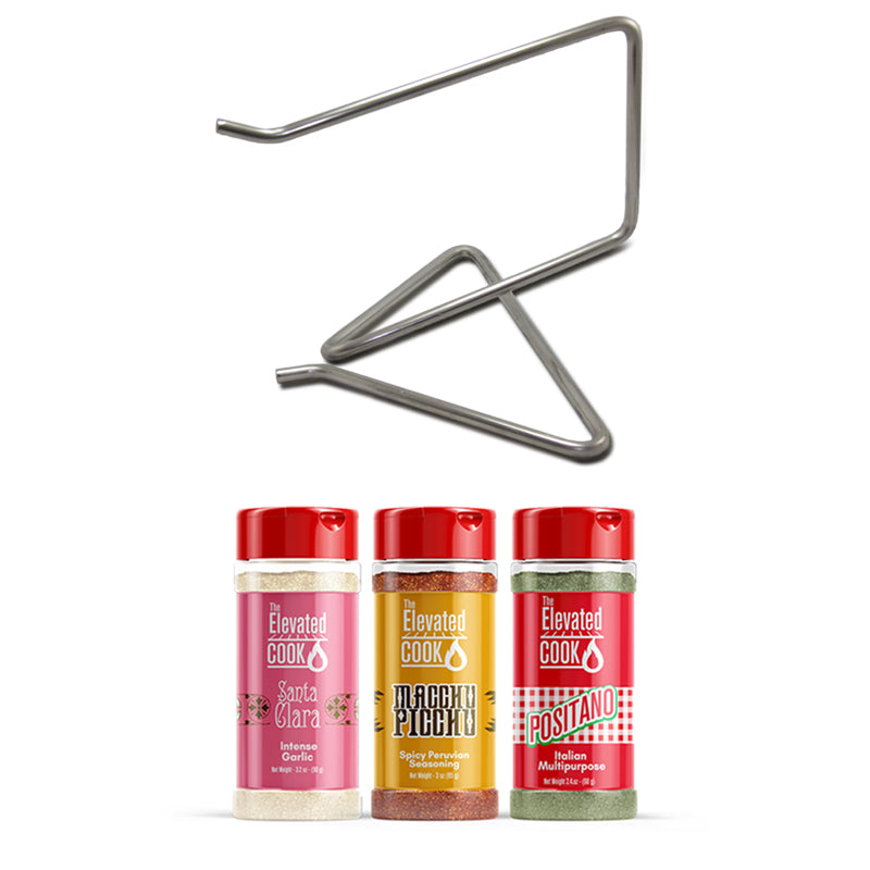 Chicken Hook Bundle With Gourmet Spice Set