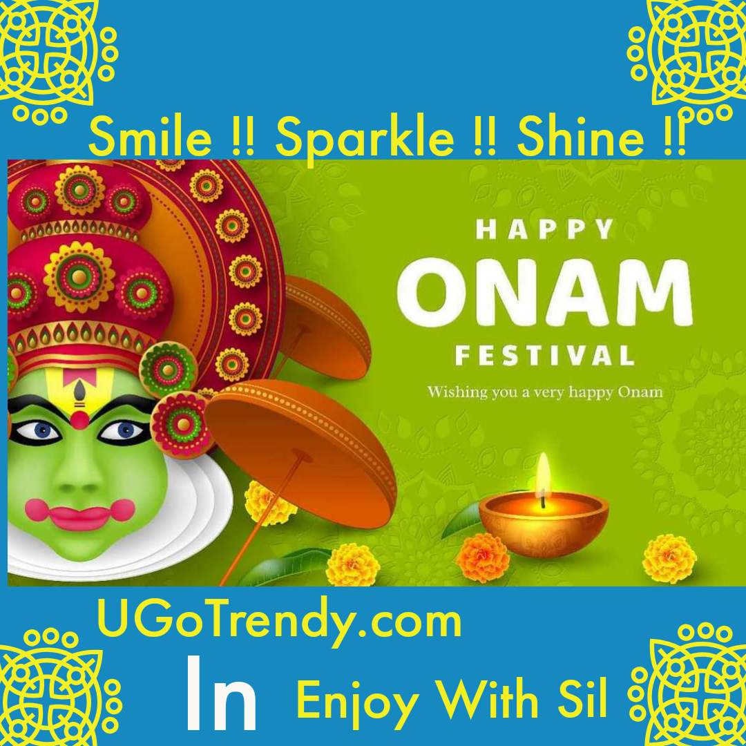 Happy Onam From UGoTrendy N Enjoy With Sil