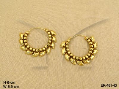Chakri Antique Hoop Earrings