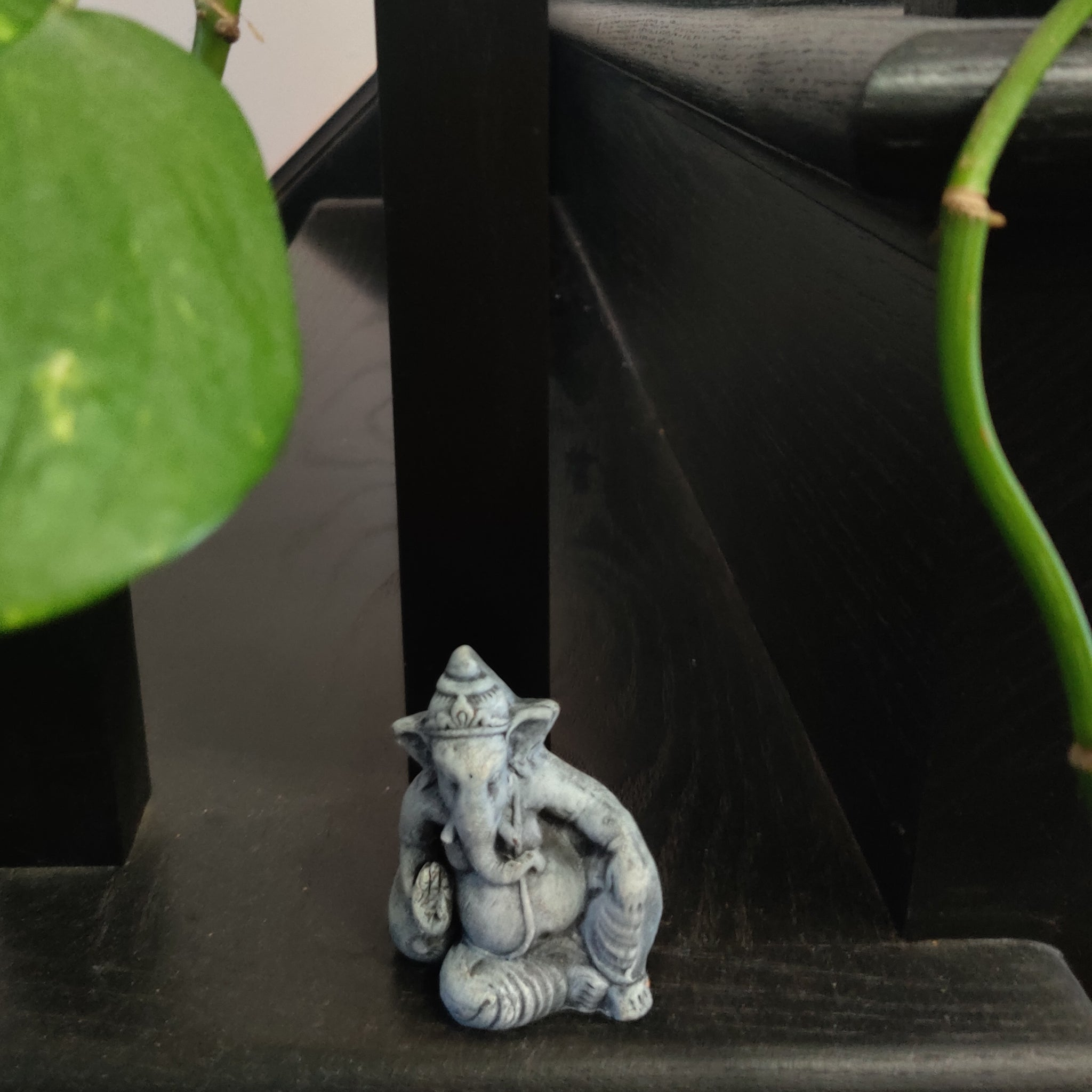 Cute Relaxing Ganesh Ganpati Grey