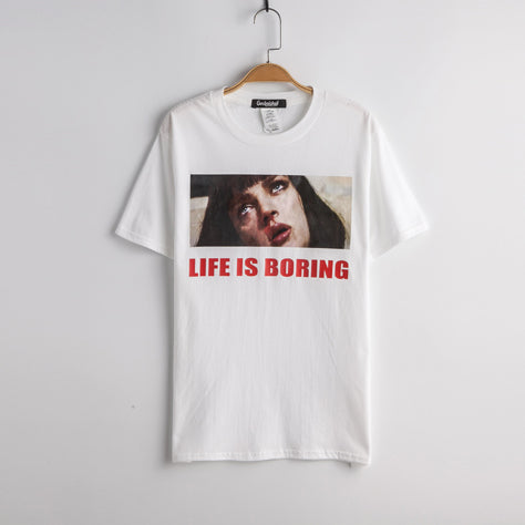 Pulp Fiction Life is Boring T-Shirt