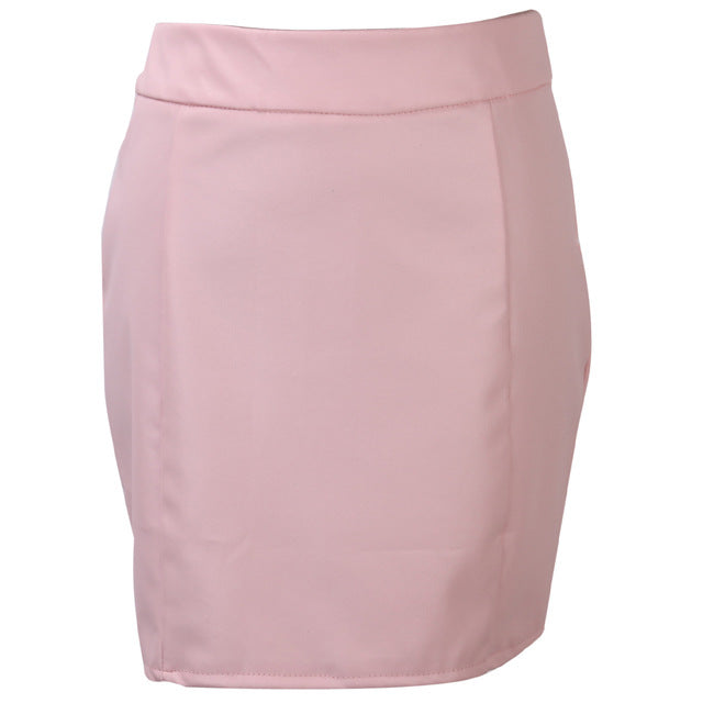 Bandage Faux Mini Skirt