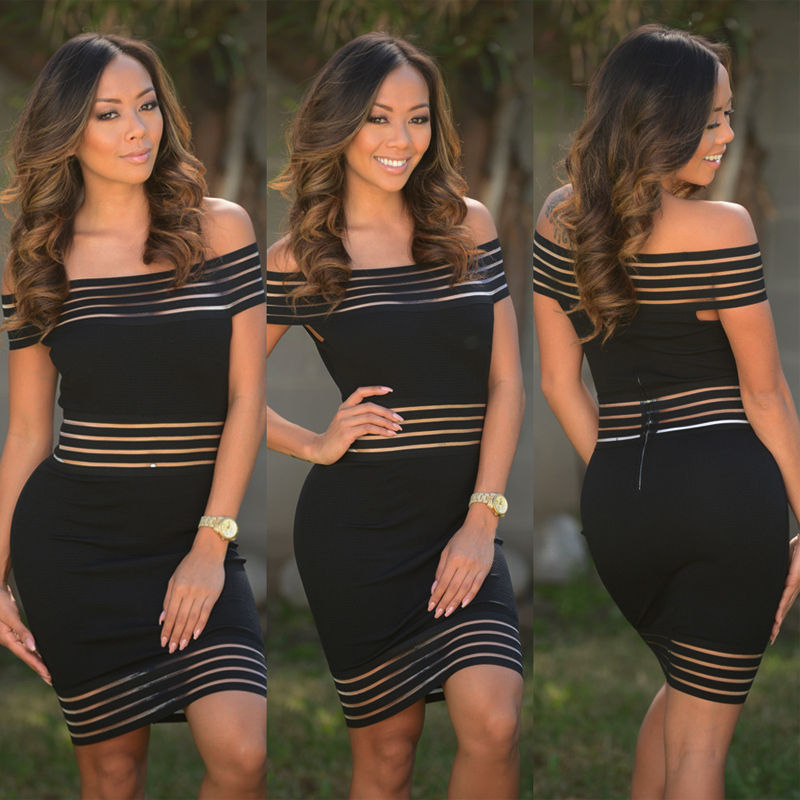 Bandage One-Piece Party Dress
