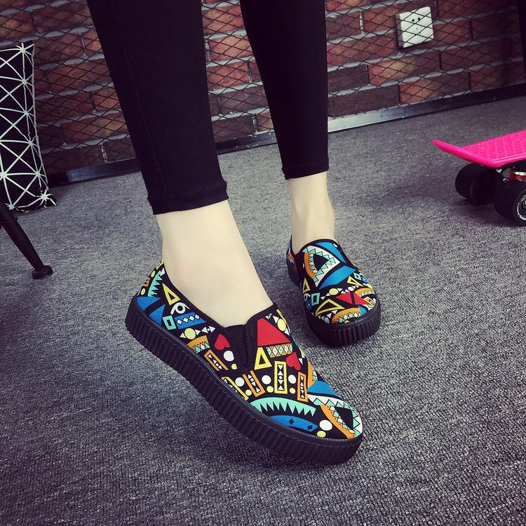 Colorful Slip On Flats