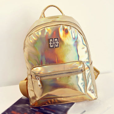 Holographic Multicolor Backpack