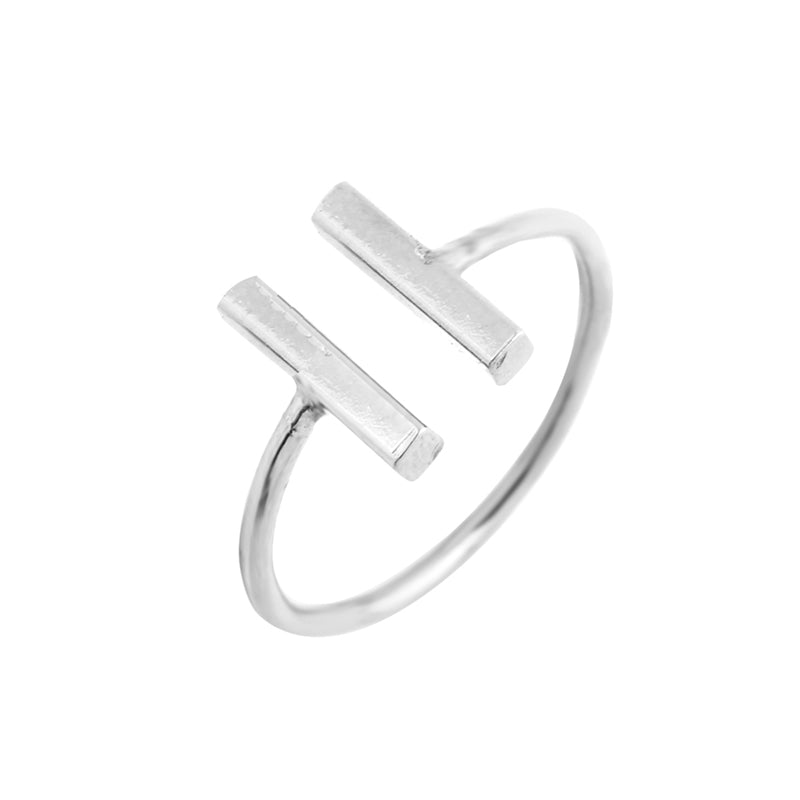 Classic Double Bars Ring