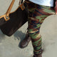 Camouflage Army Stretch Leggings