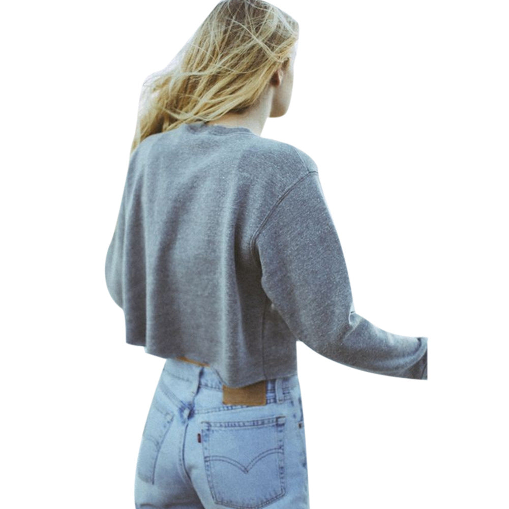 West Coast Cropped Pullover