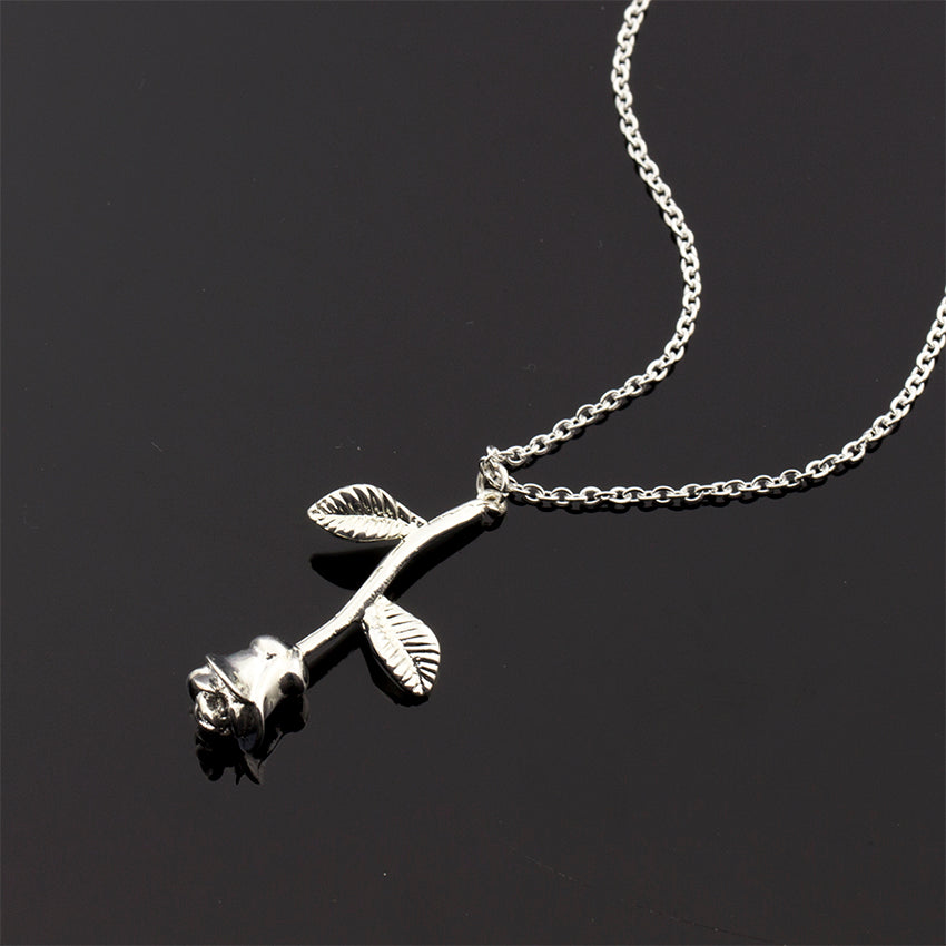 Rose Charm Necklace (1)
