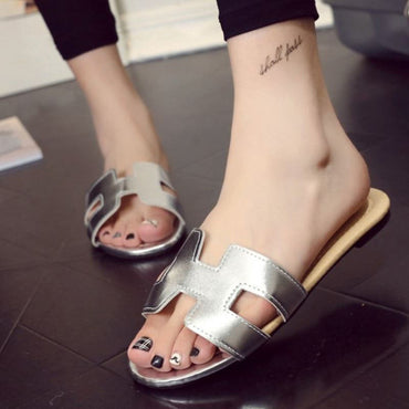 Soft Patent Slip On Shoes