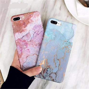 Marble Glossy Phone Case