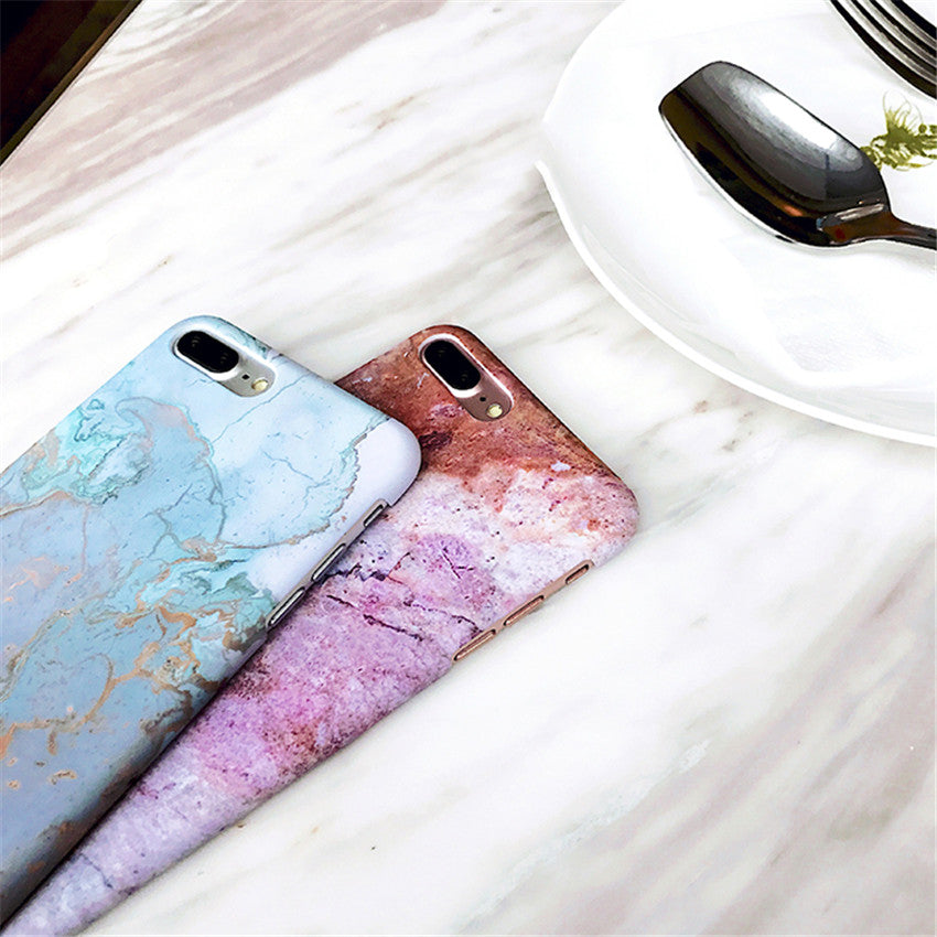 Marble Glossy Phone Case (3)