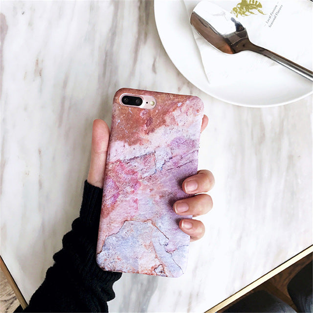 Marble Glossy Phone Case (2)