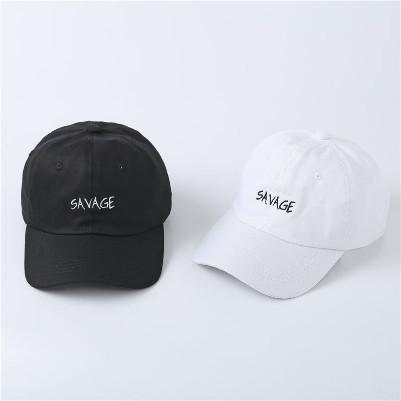 Embroidery Savage Cap