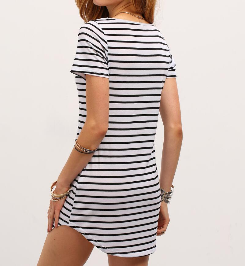 Pin Stripe Mini Dress