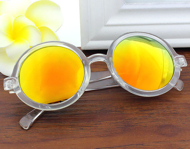 Round Retro Sun Glasses (2)