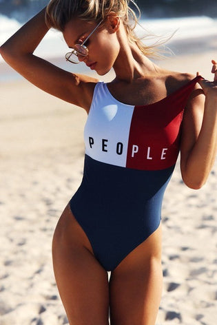 One Piece PEOPLE Swimsuit