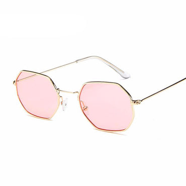 Polygon Clear Lens Sunglasses