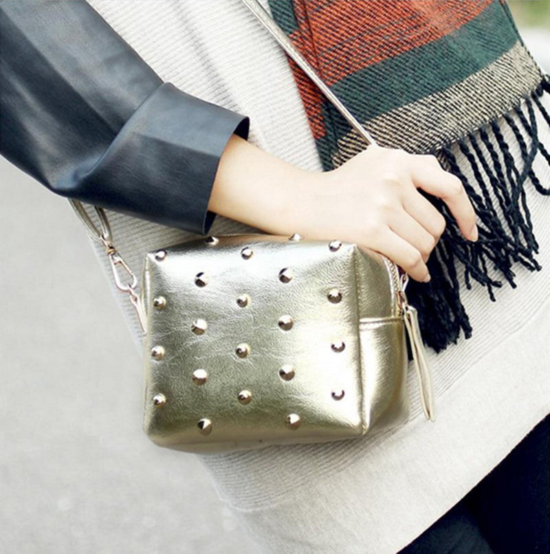 Rivet Mini Shoulder Bag