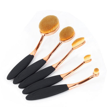 5pcs Oval Beauty Brush