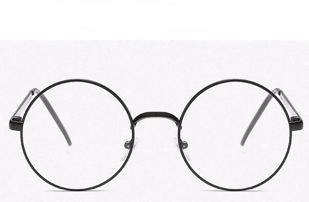 Clear Round Lens Glasses