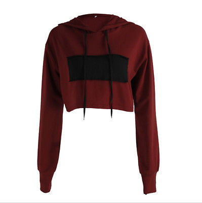 Everyday Wear Crop Hoodie