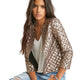 Diamond Cut Gold Sleeve Jacket