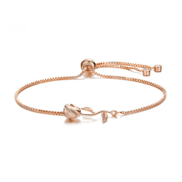 Rose Adjustable Bracelet
