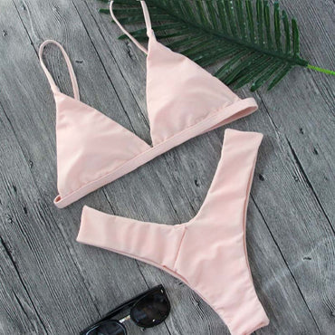 Brazilian Triangle Bikini Set