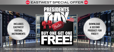 Eastwest President's Day Offer!