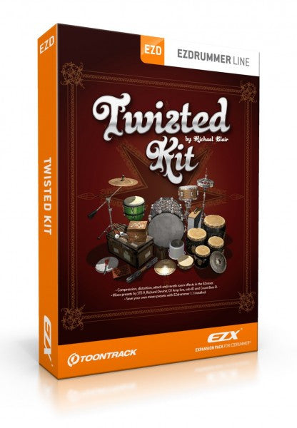 Toontrack EZX - Twisted Kit (Download)