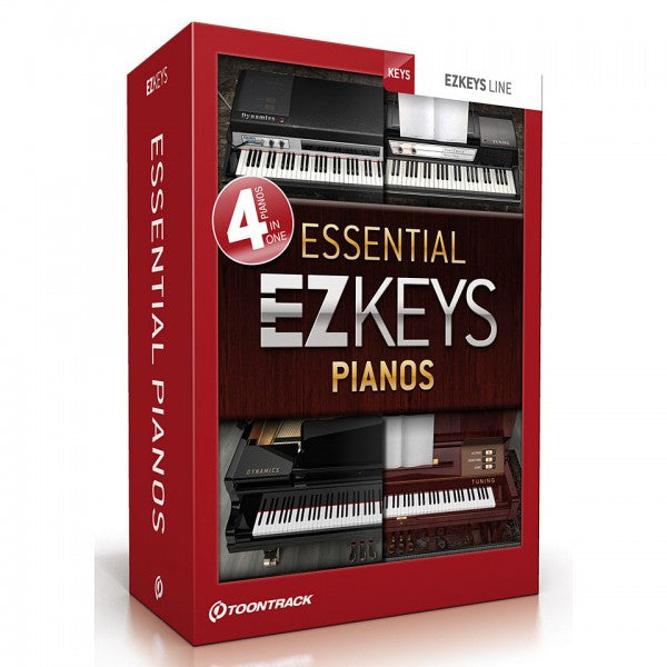 Toontrack EZkeys Essential Pianos (Download)