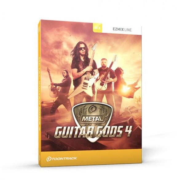 Toontrack Metal Guitar Gods 4 EZmix Pack (Download)