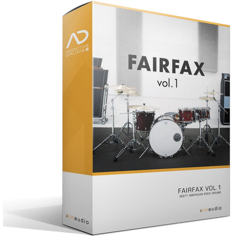 Addictive Drums 2:  Fairfax Vol. 1 ADpak
