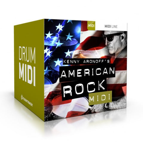 Toontrack American Rock Drum MIDI (Download)