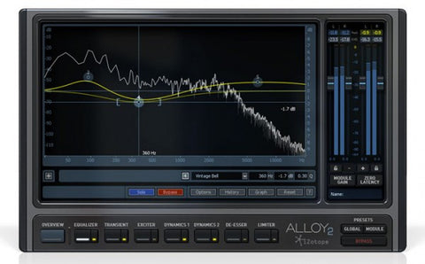 iZotope Alloy 2 Essential Mixing Tools