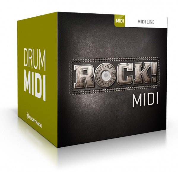 Toontrack Rock! MIDI (Download)