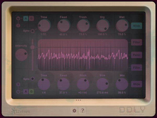 iZotope DDLY Dynamic Delay