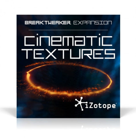 iZotope BreakTweaker Cinematic Textures Expansion