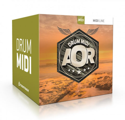 Toontrack AOR Drums MIDI (Download)