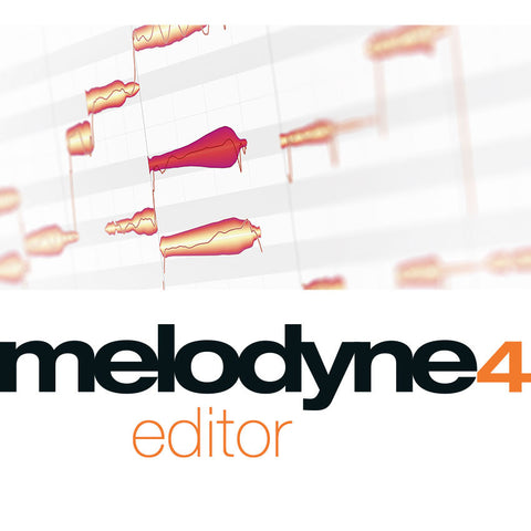 Melodyne 4 editor Additional Activation